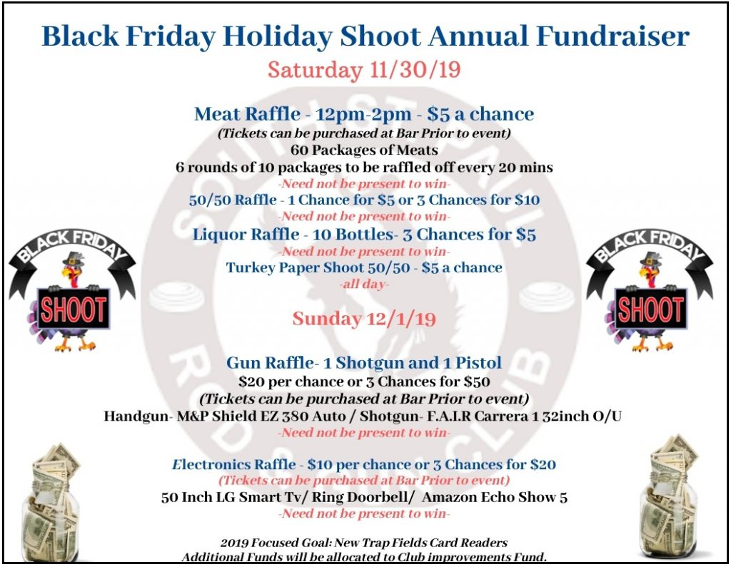 Join us for the Black Friday Shoot Annual Fundraiser – South